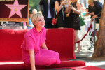 Actrice Kaylee Cuoco krijgt ster op Walk Of Fame