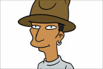 Gastrol voor Pharrell Williams in The Simpsons