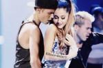 Justin Bieber verrast Ariana Grande maar jaagt Big Sean in de gordijnen