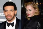Madonna kust rapper Drake op muziekfestival