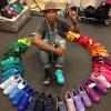 Pharrell Williams opnieuw in zee met Adidas
