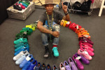 Pharrell Williams opnieuw in zee met Adidas