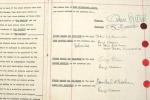 Musique: Le premier contrat des Beatles vendu pour près de 500'000 francs euros