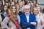 Kandidaten Miss België bezoeken parlement: