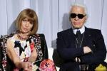 Anna Wintour rend hommage à Karl Lagerfeld aux British Fashion Awards
