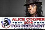 USA: le rockeur Alice Cooper se lance dans la course à la Maison Blanche