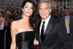 George Clooney en Amal Alamuddin maken gondeltocht