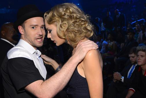 Justin Timberlake et Taylor Swift grands gagnants des American Music Awards