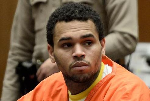 Chris Brown sinds vanmorgen weer vrij man